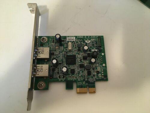 Dell YJ94F 2 Port USB 3.0 PCI Express Card