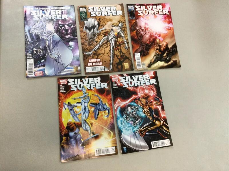 Silver Surfer 1-5 Complete Set 1 2 3 4 5 Marvel Comics 2011 (SL03)