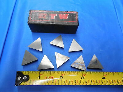 8pc New Tpg 432 Carbide Milling Insert Turning Boring Bridgeport Southbend Lathe