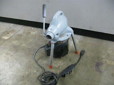 Ridgid-kollmann K-50 Pipe Drain Snake Cleaner Electric Machine Only Works Test