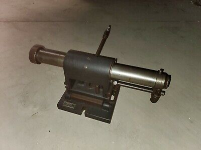 Weldon 1-14 Endmill Sharpening Sliding Air Fixture Spindle W Sub-base