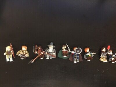 Lego Minifigs Fellowship Lord Of The Rings 9 Different Aragorn Samwise Legolas+