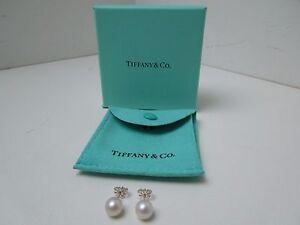 New Tiffany & Co Pearl Earrings