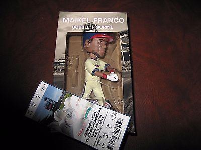 Philadelphia Phillies 3B Maikel Franco Bobble Figurine 06-18-16 Gameday Giveaway