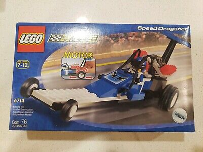 Lego 6714 Speed Dragster Town Race Racers Brand New