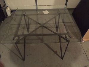 NEW Glass Kitchen Table