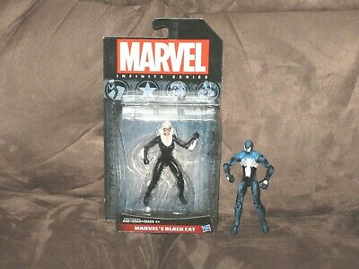 Black Costume Spider-Man and Black Cat - Marvel Universe 4 Inch Action Figure](Spiderman Cat Costume)