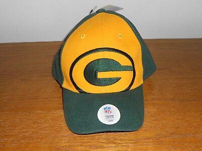 American Football Caps - NFL American Football Team Headwear Kids Green Bay Packers Baseball Cap Hat New