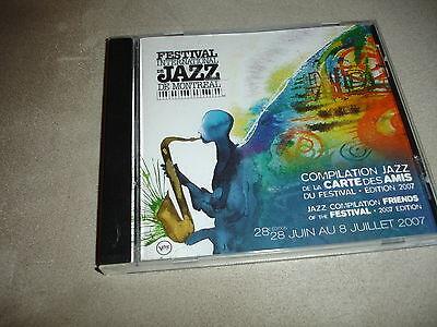La Jazz Festival - Festival International De Jazz De Montreal CD Compilation De La Carte Des 2007
