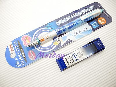 Uni Ball Kuru Toga Disney Mechanical Pencil 0.5mm Free Hb Leads Cinderella