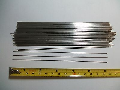 """25 Looped Shafts 4/"""" Stainless Steel .040 good for in-line spinners"""