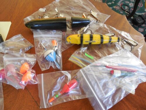 Vintage Fishing Lures & Floats