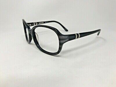 EDDIE BAUER 8568 Sunglasses Frame Womens 58-17-130 Grey Amber Polish Wrap (Eddie Bauer Womens Sunglasses)