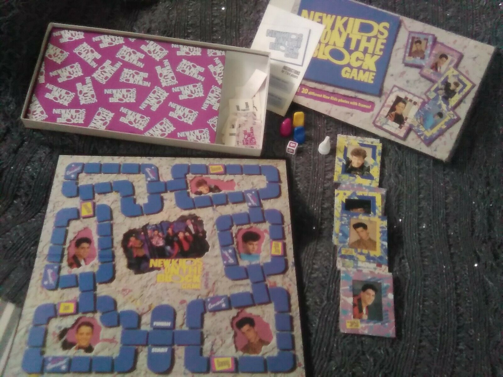 New Kids On The Block 1990 Board Game - $50.00