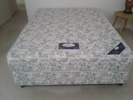 Sleepmaker Double Bed Mattress and Base