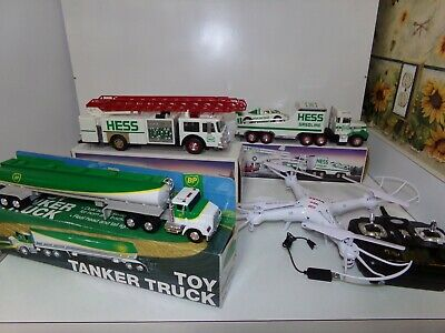 Interbred Lot Of Drone SYMA + 3 Collectible toys tracks HESS & BP