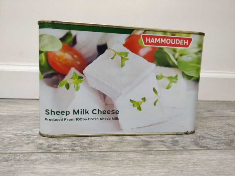 Nabulsi Cheese Hammoudeh Goat / Sheep Cheese - Middle Eastern 4KG Imported