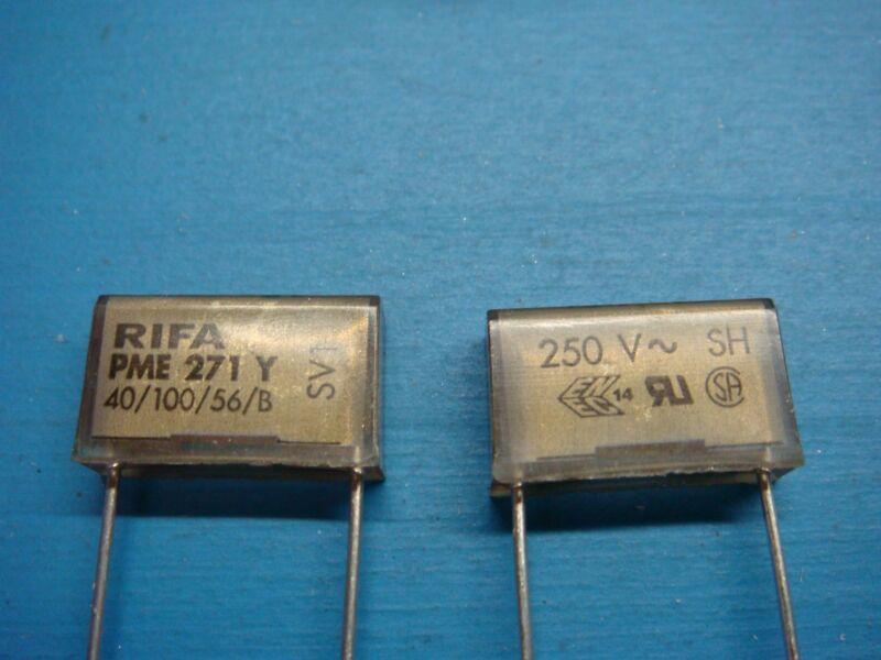(50) EVOX RIFA PME271Y515MR30 15nF 0.015uF 250V 20% RADIAL FILM CAPACITOR ROHS