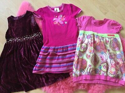 3 Mädchen Kleider, Gr. 104-110, wunderschön