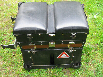 VINTAGE ASI MATCH SEAT FISHING BOX RARE EXCELLENT