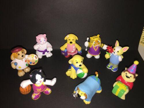 Webkinz pvc Mini Figures 9 - assorted