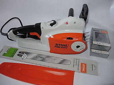 Stihl MSE 210 C-BQ Motorsäge Elektrosäge + Schwert +  Sägekette MSE210
