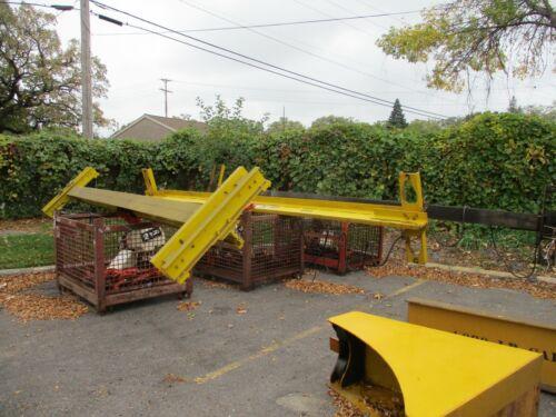 Cranco Bridge Crane System 2-Ton (4) Coffing Hoists Used