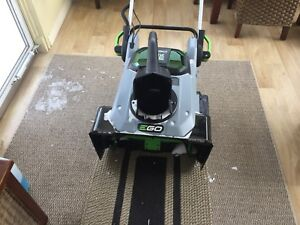EGO battery powered snowblower project or part out