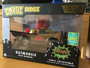 2016 SDCC Exclusive Dorbz ridez Batmobile with Batman Hawthorn Boroondara Area Preview