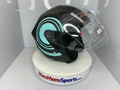 Shield Motorcycle Helmets on SALE DOT approved. Size S,M,XL  Ballon Blue