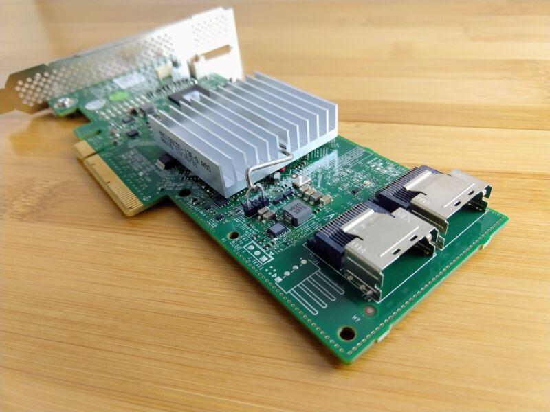 Dell H310 6Gbps SAS HBA w// LSI 9211-8i P20 IT Mode for ZFS FreeNAS unRAID