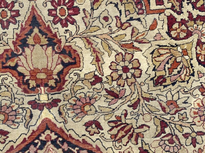 Antique hand-knotted Rug 7