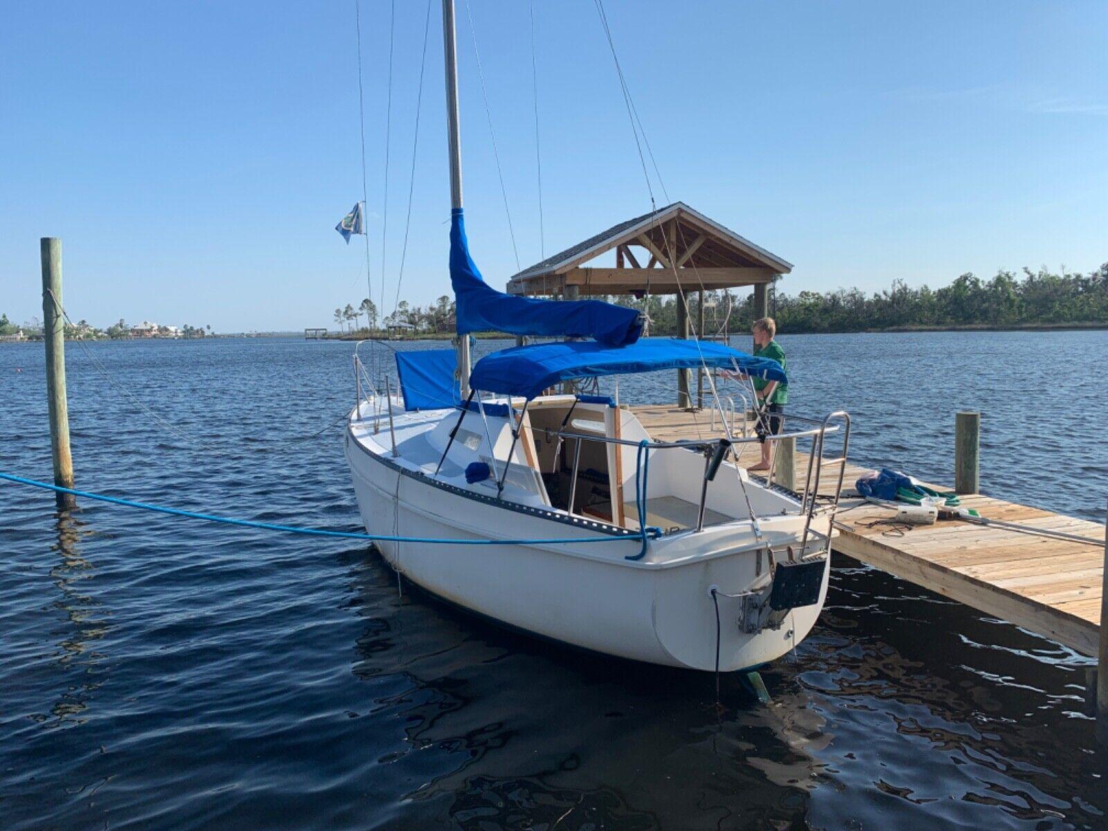 Columbia 26 1975 sailboat