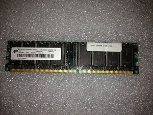 Memoria-DDR-Micron-MT8VDDT3264AG-265B1-256MB-PC2100-266MHz-CL2-5-184-Pin