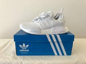 ADIDAS NMD R1 WHITE MONOCHROME PK DS SIZE US7 Melbourne CBD Melbourne City Preview
