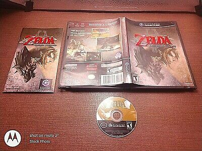 Nintendo GameCube NGC CIB Complete Tested The Legend of Zelda Twilight Princess