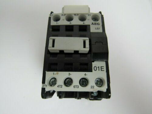 AEG CONTACTOR LS7 910-302-510-22 3 POLE A600 N300 600V 20A