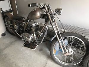2013 Custom Bubber BSA Chopper
