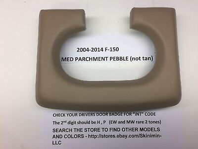 ford f150 center console cup holder pad 2004-2014  medium parchment pebble , used for sale  Houston