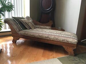 Canapé type récamier antique