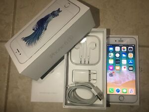 Excellent Condition iPhone 6S 64GB Unlocked Silver