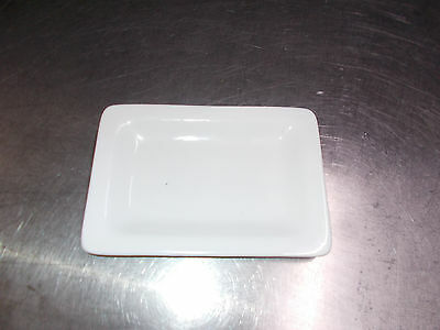 24 Gastro / Hotel Porzellan Teller, Neu !! 17,5 cm x 12 cm