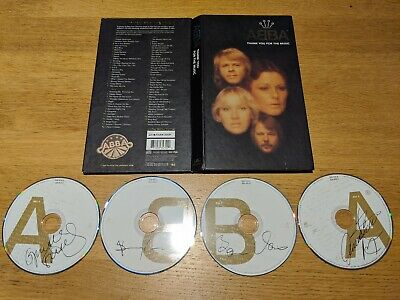 Abba - Thank You For the Music (Limited Edition 4 CD Box Set 1994) MINT