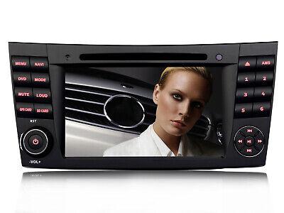 """Für Mercedes Benz E220 CLS350 E280 E240 7"""" HD GPS BT Karte Autoradio DVD 2 DIN"""
