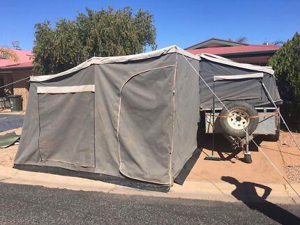 Kids room addition for camper trailer