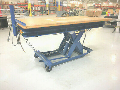 Electric Lift Table 2000lbs Work Station Scissor Lift Table 48x96