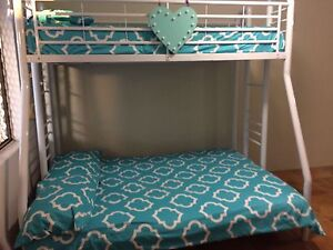 White Double Bunk Bed Cannington Canning Area Preview