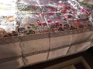 Brand new silk bed cover