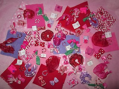 LPS Littlest Pet Shop Valentine 1 Gift Bag RANDOM Lot of 6 Accessories No Pets - Valentine Accessories