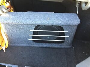 Jl W3 subwoofer, with TMA 500.1 Amp and enclosure for sale